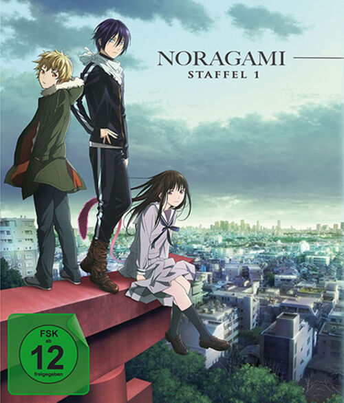 (C) KSM Anime / Noragami Season 1 Gesamtedition Blu-ray / Zum Vergrößern auf das Bild klicken