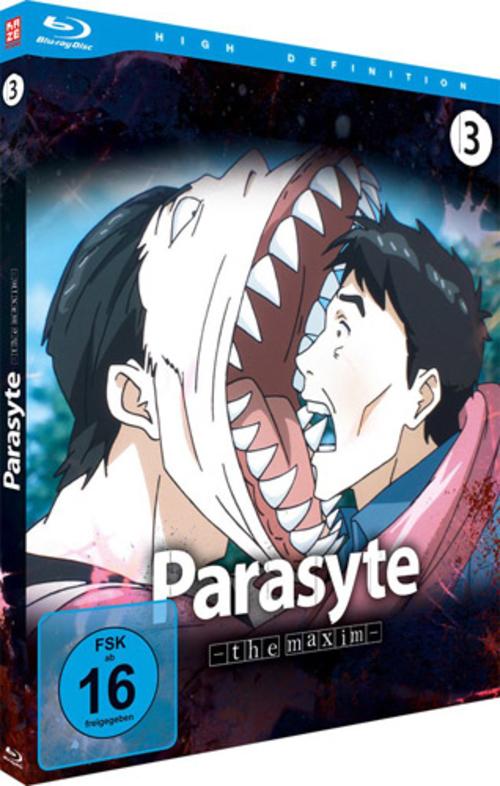 (C) KAZÉ Anime / Parasyte -the maxim- Vol. 3 / Zum Vergrößern auf das Bild klicken