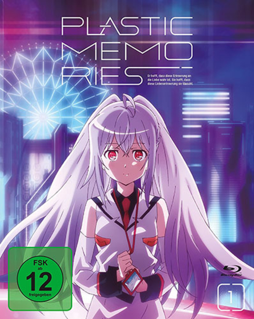 (C) peppermint anime / Plastic Memories Vol. 1 / Zum Vergrößern auf das Bild klicken