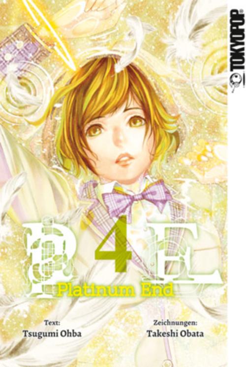 (C) Tokyopop / Platinum End 4 / Zum Vergrößern auf das Bild klicken