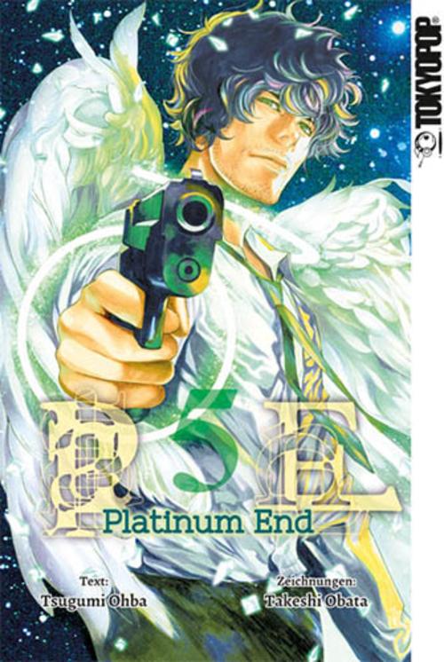 (C) Tokyopop / Platinum End 5 / Zum Vergrößern auf das Bild klicken