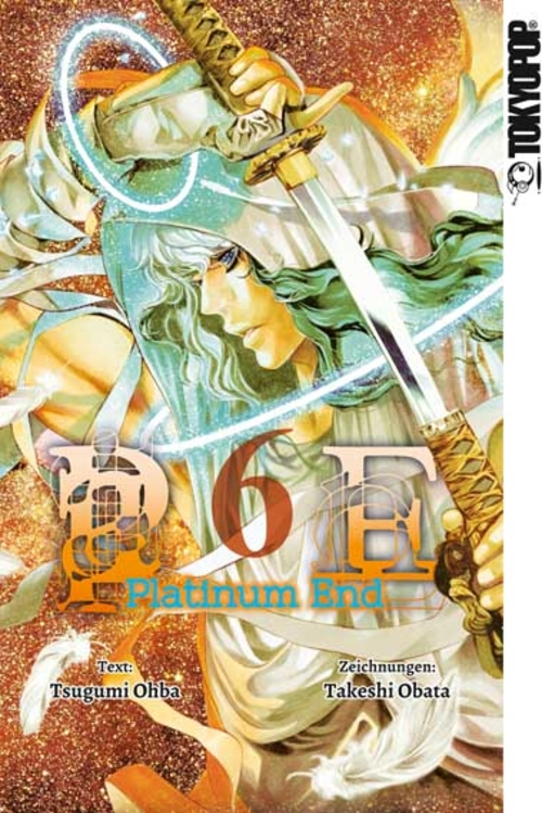 (C) Tokyopop / Platinum End 6 / Zum Vergrößern auf das Bild klicken