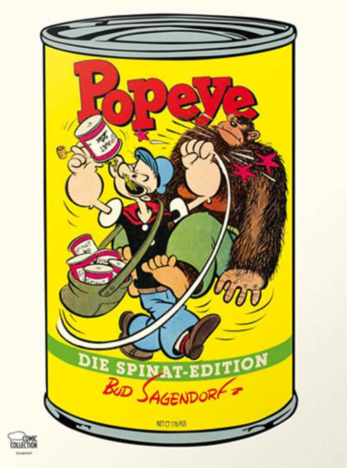 (C) Egmont Comic Collection / Popeye - Die Spinat Edition / Zum Vergrößern auf das Bild klicken