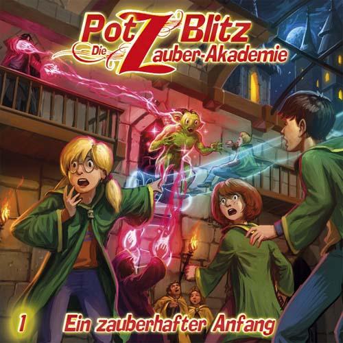 (C) Contendo Media/Delta Music / Potz Blitz – Die Zauber-Akadamie 1 / Zum Vergrößern auf das Bild klicken