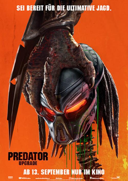 (C) 20th Century Fox / Predator - Upgrade Kinoposter / Zum Vergrößern auf das Bild klicken