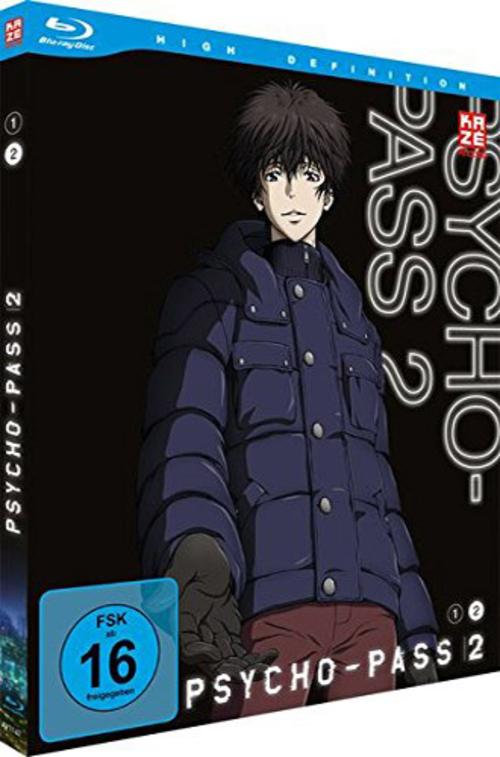 (C) KAZÉ Anime / Psycho-Pass 2 Vol. 2 / Zum Vergrößern auf das Bild klicken