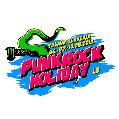 (C) Punk Rock Holiday / Punk Rock Holiday 1.8 Logo / Zum Vergrößern auf das Bild klicken