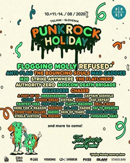 (C) Punk Rock Holiday / Punk Rock Holiday 2020 Flyer / Zum Vergrößern auf das Bild klicken
