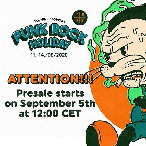 (C) Punk Rock Holiday / Punk Rock Holiday 2020 Presale Promo / Zum Vergrößern auf das Bild klicken