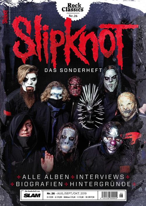 (c) SLAM / RC26_Slipknot_Cover_U1_150dpi / Zum Vergrößern auf das Bild klicken