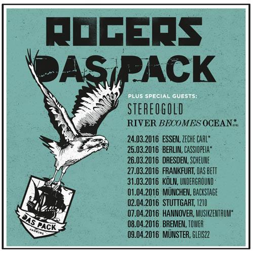 (C) Kingstar / ROGERS & DAS PACK Tourflyer / Zum Vergrößern auf das Bild klicken