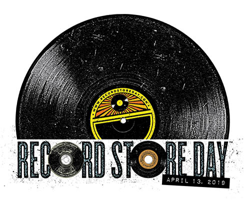 (C) Record Store Day / Record Store Day 2019 Logo / Zum Vergrößern auf das Bild klicken
