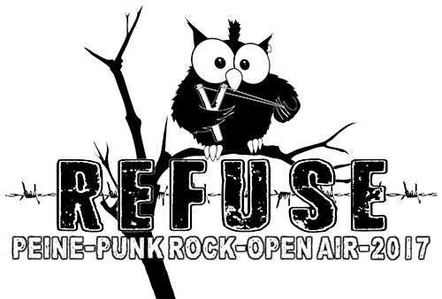 (C) Refuse Festival / Refuse Open Air Logo 2017 / Zum Vergrößern auf das Bild klicken