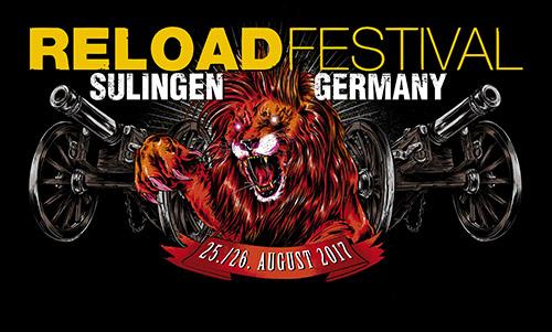 (C) Reload Festival / Reload Festival 2017 Logo / Zum Vergrößern auf das Bild klicken