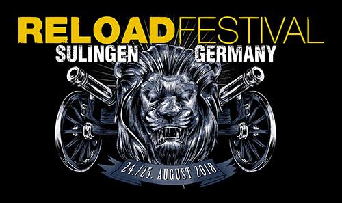 (C) Reload Festival / Reload Festival 2018 Logo / Zum Vergrößern auf das Bild klicken