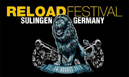 (C) Reload Festival / Reload Festival Logo 2019 / Zum Vergrößern auf das Bild klicken
