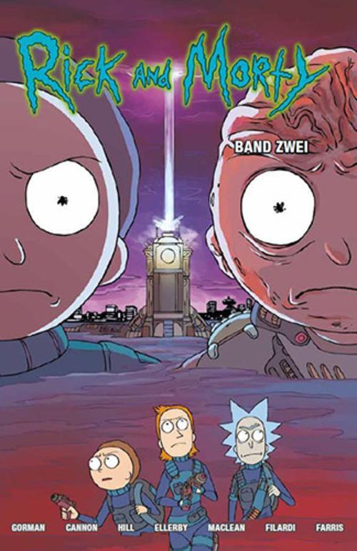 (C) Panini Comics / Rick and Morty 2 / Zum Vergrößern auf das Bild klicken