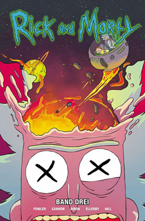 (C) Panini Comics / Rick and Morty 3 / Zum Vergrößern auf das Bild klicken