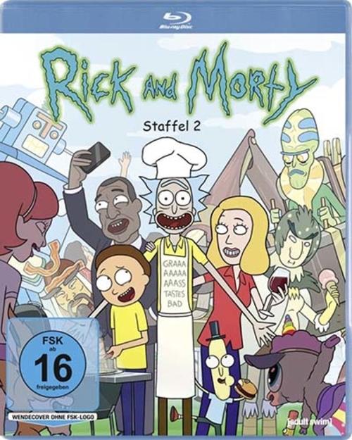 (C) Studio Hamburg Enterprises / Rick and Morty Season 2 / Zum Vergrößern auf das Bild klicken