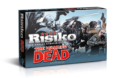 (C) Winning Moves / Risiko The Walking Dead - Survival Edition / Zum Vergrößern auf das Bild klicken