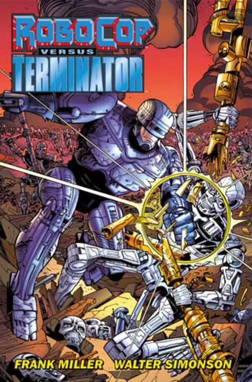 (C) Cross Cult Verlag / RoboCop versus Terminator / Zum Vergrößern auf das Bild klicken