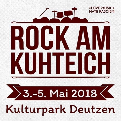 (C) Rock am Kuhteich / Rock am Kuhteich 2018 Logo / Zum Vergrößern auf das Bild klicken
