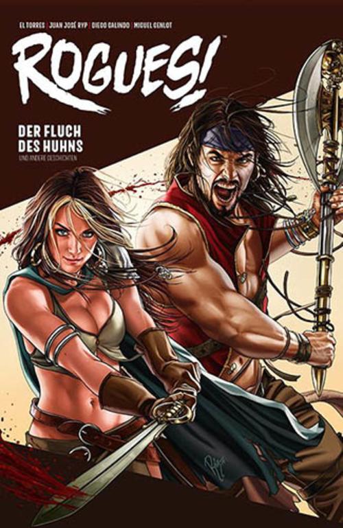 (C) Panini Comics / Rogues! 1 / Zum Vergrößern auf das Bild klicken