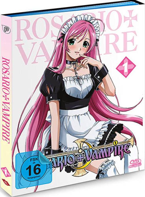 (C) peppermint anime / Rosario + Vampire Vol. 1 / Zum Vergrößern auf das Bild klicken