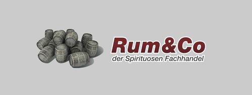 (C) Rum & Co / Rum & Co Logo / Zum Vergrößern auf das Bild klicken