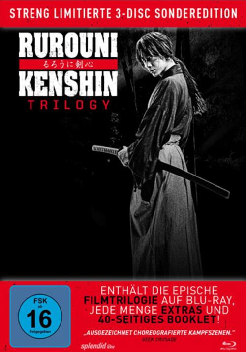 (C) Splendid Film / Rurouni Kenshin Trilogy / Zum Vergrößern auf das Bild klicken