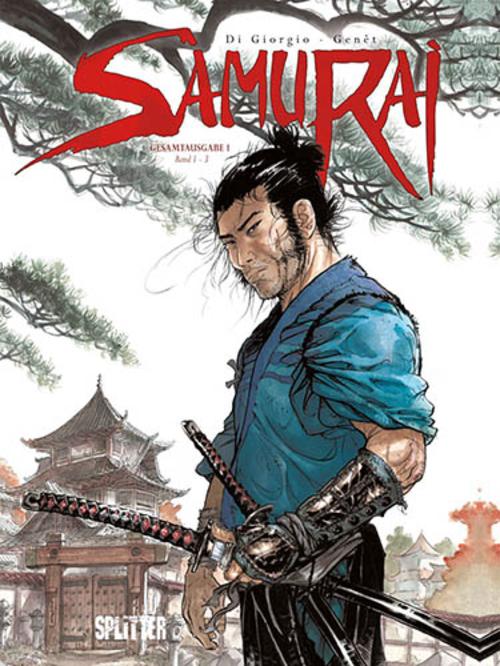 (C) Splitter Verlag / Samurai Gesamtausgabe 1 / Zum Vergrößern auf das Bild klicken