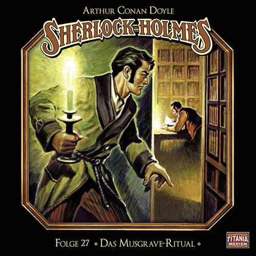 (C) Titania Medien/Lübbe Audio / Sherlock Holmes 27 / Zum Vergrößern auf das Bild klicken