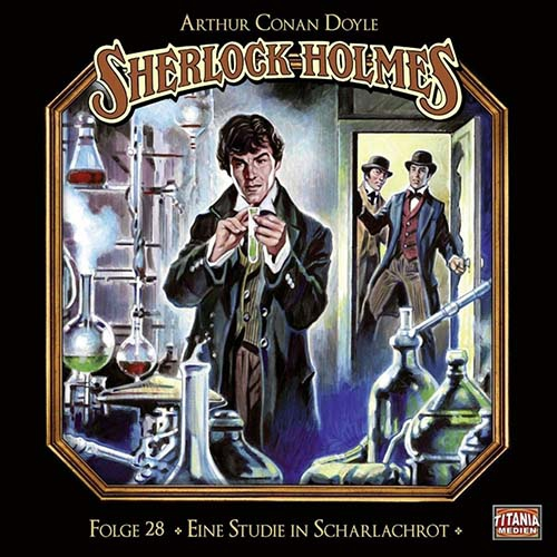(C) Titania Medien/Lübbe Audio / Sherlock Holmes 28 / Zum Vergrößern auf das Bild klicken