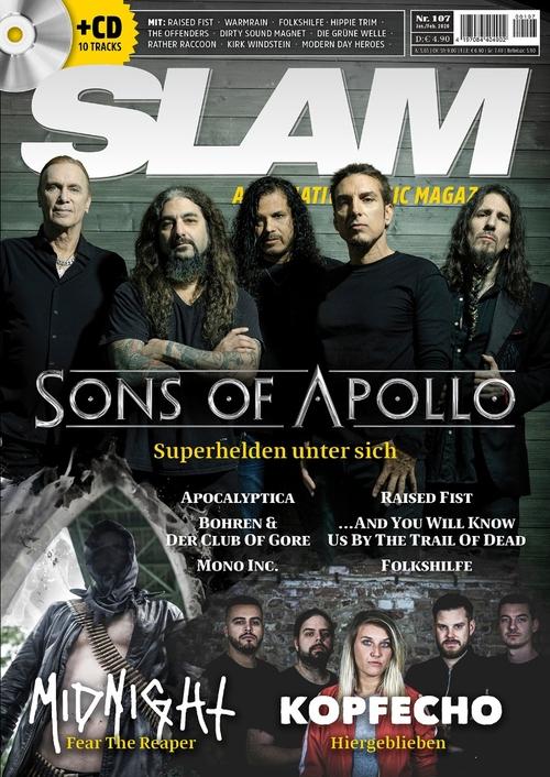 (c) SLAM Media / Slam107_Cover_U1_150dpi / Zum Vergrößern auf das Bild klicken