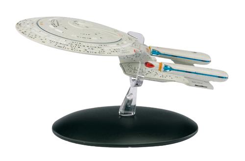 (C) Eaglemoss /  - Die offizielle Raumschiffsammlung 1 Modell U.S.S. Enterprise NCC-1701-D / Zum Vergrößern auf das Bild klicken