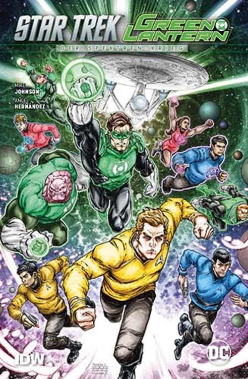 (C) Panini Comics / Star Trek/Green Lantern: Der Spektren-Krieg / Zum Vergrößern auf das Bild klicken