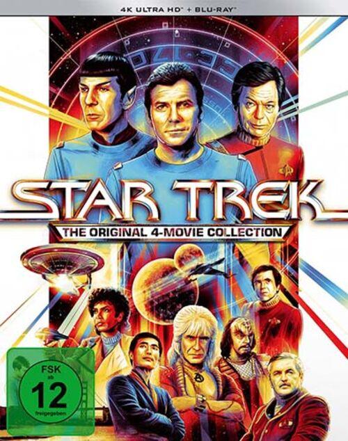 Star Trek: The Original 4 Movie Collection