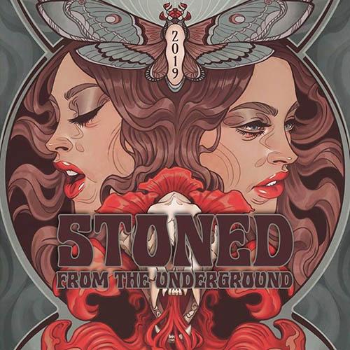(C) Stoned From The Underground / Stoned From The Underground 2019 Logo / Zum Vergrößern auf das Bild klicken
