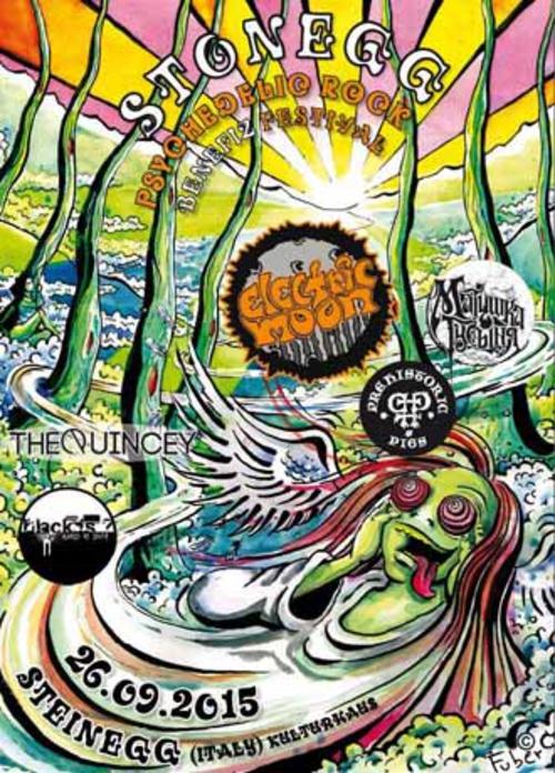 (C) Stonegg - Psychedelic Rock Benefiz Festival / Stonegg - Psychedelic Rock Benefiz Festival Flyer / Zum Vergrößern auf das Bild klicken