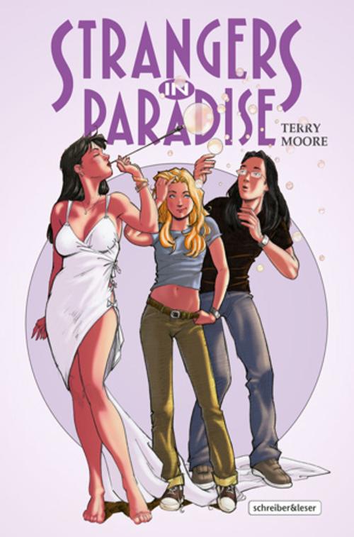 (C) Schreiber & Leser / Strangers in Paradise 5 / Zum Vergrößern auf das Bild klicken