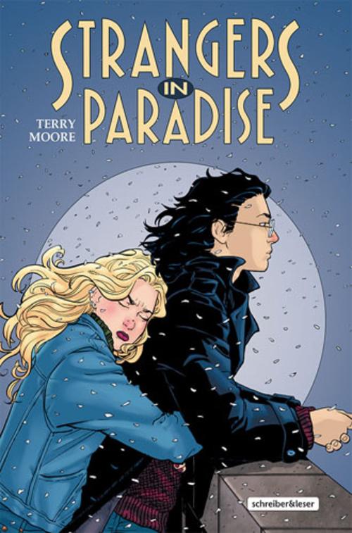 (C) Schreiber & Leser / Strangers in Paradise 6 / Zum Vergrößern auf das Bild klicken