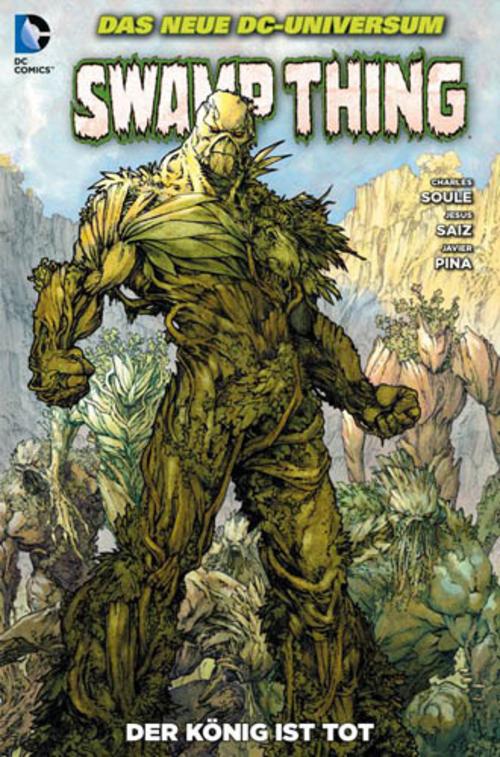 (C) Panini Comics / Swamp Thing 5 / Zum Vergrößern auf das Bild klicken