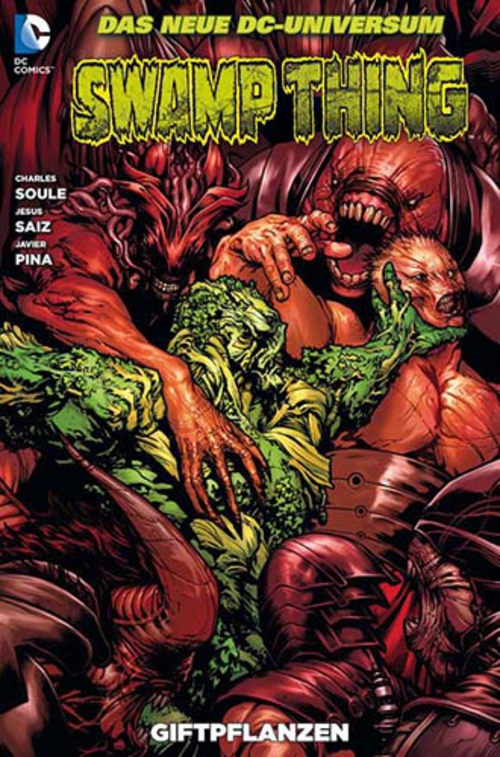 (C) Panini Comics / Swamp Thing 6 / Zum Vergrößern auf das Bild klicken