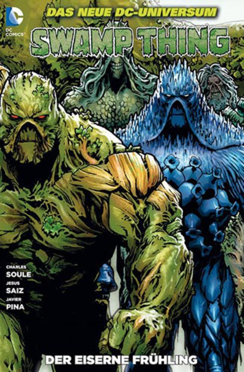 (C) Panini Comics / Swamp Thing 7 / Zum Vergrößern auf das Bild klicken