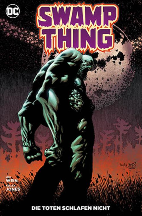 (C) Panini Comics / Swamp Thing: Die Toten schlafen nicht / Zum Vergrößern auf das Bild klicken