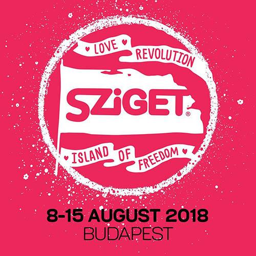 (C) Sziget Festival / Sziget Festival 2018 Logo / Zum Vergrößern auf das Bild klicken