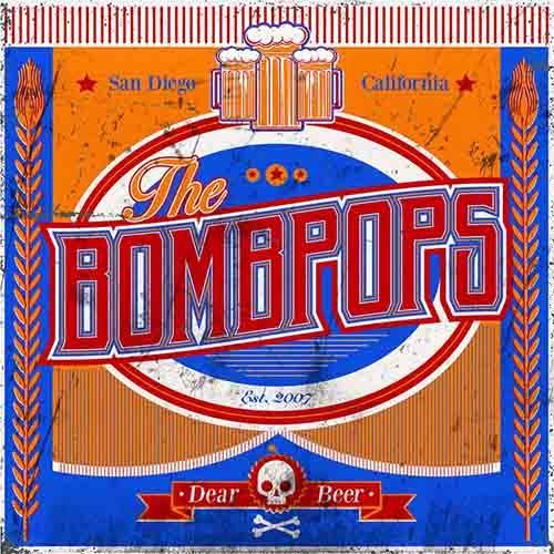 (C) Fat Wreck Chords / THE BOMBPOPS: Dear Beer / Zum Vergrößern auf das Bild klicken