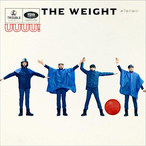 (C) Heavy Rhythm & Roll Records / THE WEIGHT: Trouble / Zum Vergrößern auf das Bild klicken