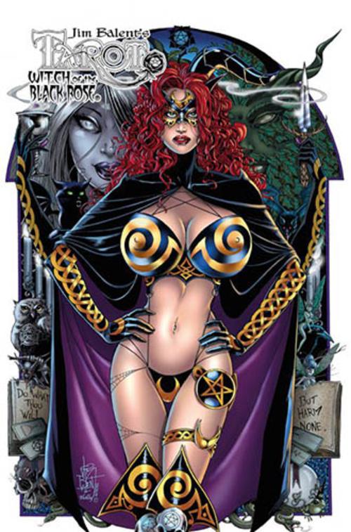 (C) Panini Comics / Tarot - Witch of the Black Rose 15 / Zum Vergrößern auf das Bild klicken