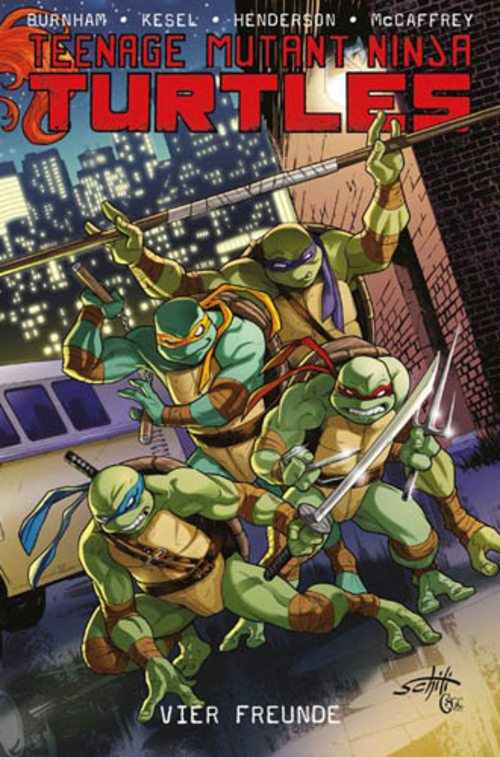 (C) Panini Comics / Teenage Mutant Ninja Turtles 6 / Zum Vergrößern auf das Bild klicken